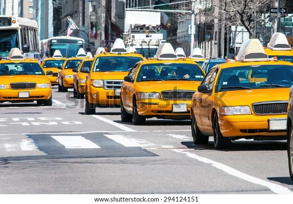 Taxi Giallo a New York