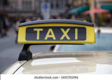 Taxi Signs Stock Photos, Images & Photography | Shutterstock