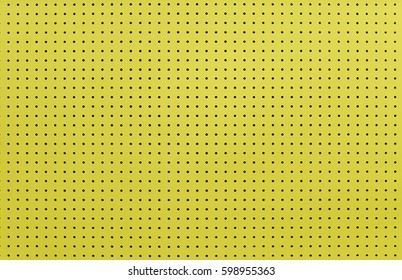 Yellow tool board background