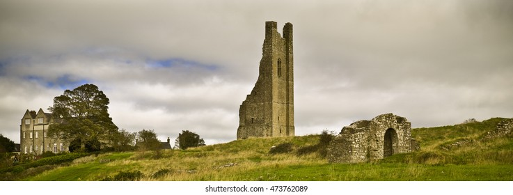 The Yellow Tower of the Abbey of St. Mary, Trim, Co. Meath Ireland