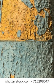 Yellow and turquoise background