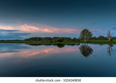 Yellow Water is a landlocked billabong thriving with native flora and fauna and is one of World Heritage listed Kakadu National Park best known landmarks, located near the small settlement of Cooinda