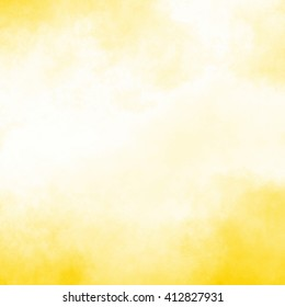 yellow watercolor background - grainy texture