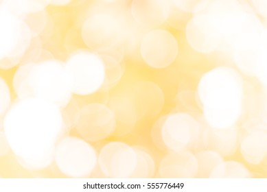 Yellow and white bokeh from natura