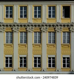 Yellow windows in Munich