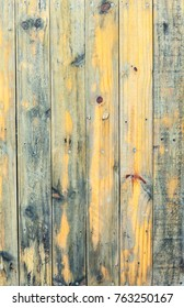 Yellow wood texture. Abstract background