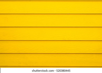 Yellow wood wall background