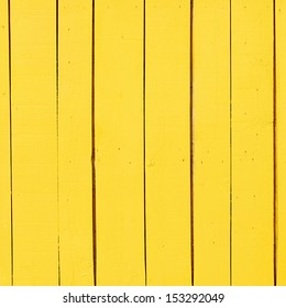yellow wooden plank as a background or texture