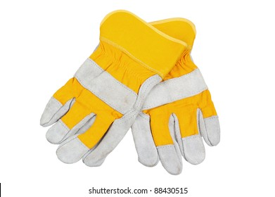 Canvas Industrial Safety Work Protective Gloves for Welding Carrying Repair