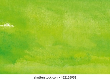 yellow-green watercolor background
