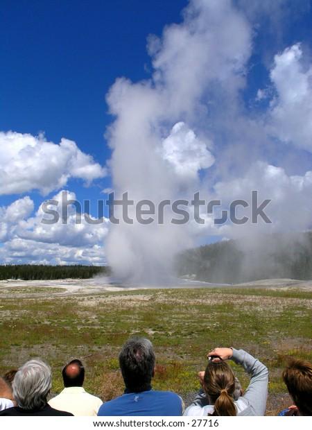 Yellowstone Famous Geyser