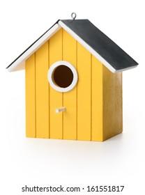 Yelolow bird box