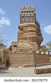 Yemen, the Palace of the Imam in the Wadi Dhar in Sana'a