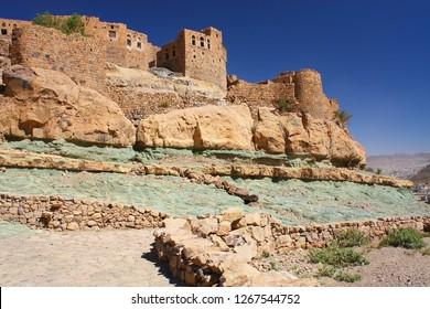 Yemen, surrounding area of Sanaa, here the village Bayt Baws