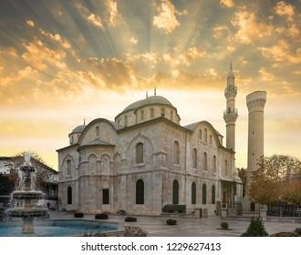 Yeni Mosque sunset view, Malatya City , Turkey