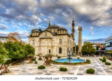 Yeni Mosque view in Malatya City. Yeni Mosque is populer tourist attraction in Malatya City.