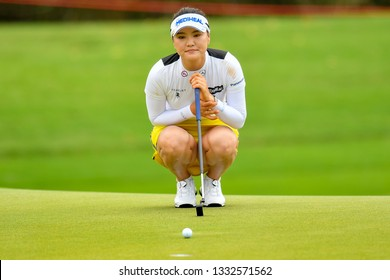 So Yeon Ryu Republic of Korea  in action during the Honda LPGA Thailand 2019 Round 2 at Siam Country Club, Old Course on February 22, 2019 in Chonburi, Thailand.