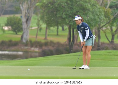 So Yeon Ryu of Republic of Korea in Honda LPGA Thailand 2018 at Siam Country Club, Old Course on February 24, 2018 in Pattaya Chonburi, Thailand.