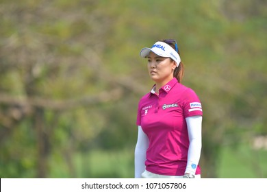 So Yeon Ryu of Republic of Korea in Honda LPGA Thailand 2018 at Siam Country Club, Old Course on February 25, 2018 in Pattaya Chonburi, Thailand.