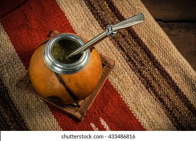 Yerba drink tea mate photo.