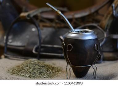 Yerba Mate, drink of the Argentine Gauchos