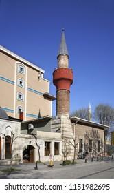 Yerebatan mosque in Istanbul. Turkey