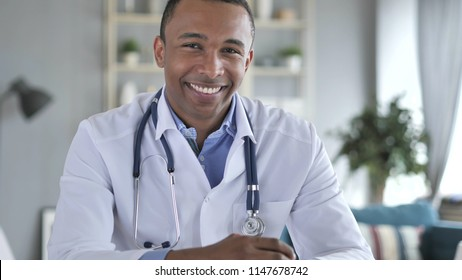 Yes,  African-American Doctor Shaking Head to Allow Patient