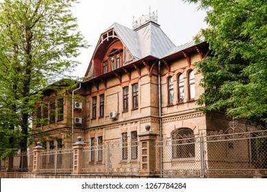 Yessentuki, Stavropol Territory / Russia - May 14, 2018: Former summer cottage of Colonel V.K. Zaretsky