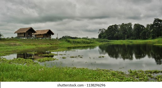 Ygdrasill Bamboo Cottage,Majuli,Assam