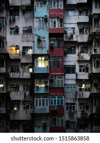Yick Fat Building Hong Kong quarry bay, typical apartment complex in hong kong china