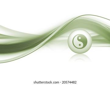 Yin & Yang Background