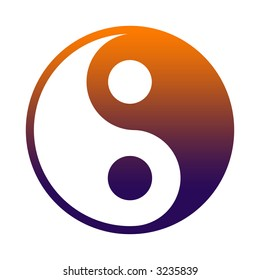 Yin And Yang - Chinese Philosophy Concept, Two Primal Opposing But Complementary Principles