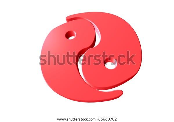 Yin-Yang red