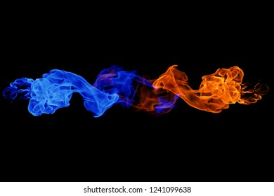 Fire Ice Yin Yang Stock Photos Images Photography Shutterstock