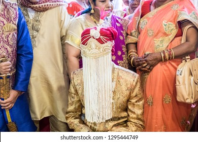 Yishun / Singapore - January 26th 2019: A singh wedding ceremony was held at a local temple.