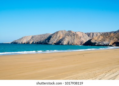 Yiti (also spelled Yitti) beach near Muscat, Sultanat of Oman