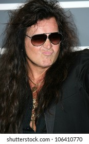 Yngwie Malmsteen at the 51st Annual GRAMMY Awards. Staples Center, Los Angeles, CA. 02-08-09