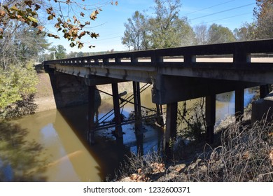 Yocona River Bridge in Mississippi