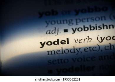 yodel word in a dictionary. yodel concept, definition.