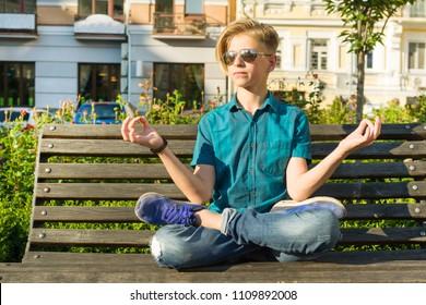 Terrific Imagenes Fotos De Stock Y Vectores Sobre Boy Teen Nature Evergreenethics Interior Chair Design Evergreenethicsorg