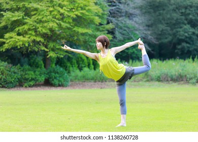 Yoga Lord of the Dance Pose