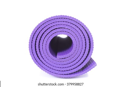 Yoga Mat and on white background