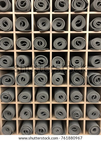 Yoga Mats Storage Studio Stock Photo (Edit Now) 761880967 - Shutterstock 0e977dce2c87
