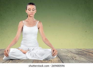 Yoga, Meditating, Zen-like.