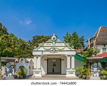 YOGYAKARTA, INDONESIA - AUGUST 19, 2011: Palace of Yogyakarta, Java,  Indonesia.