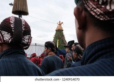 Yogyakarta / Indonesia - December 1 2017 : Grebeg Maulud