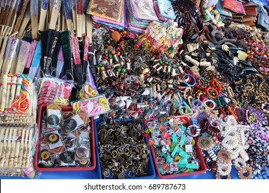 Yogyakarta, Indonesia - May 12, 2015 : traditional market in Yogyakarta, Indonesia.