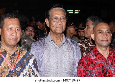 Yogyakarta, Indonesia-October/07/2016. The presence SRI SULTAN HAMENGKUBUWONO X, the governor of Yogyakarta at the 260th anniversary of Yogyakarta city.