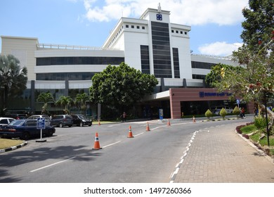 Yogyakarta, September 6, 2019 : JIH Hospital view from the front
