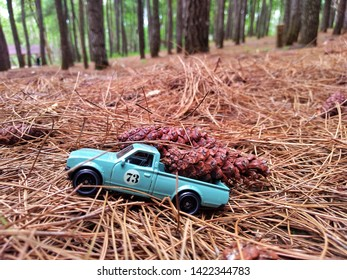 Yogyakarta/2018,Hotwhells diecast model car, made in malaysia, This is datsun 620 diecast car, shoot at outdoor area